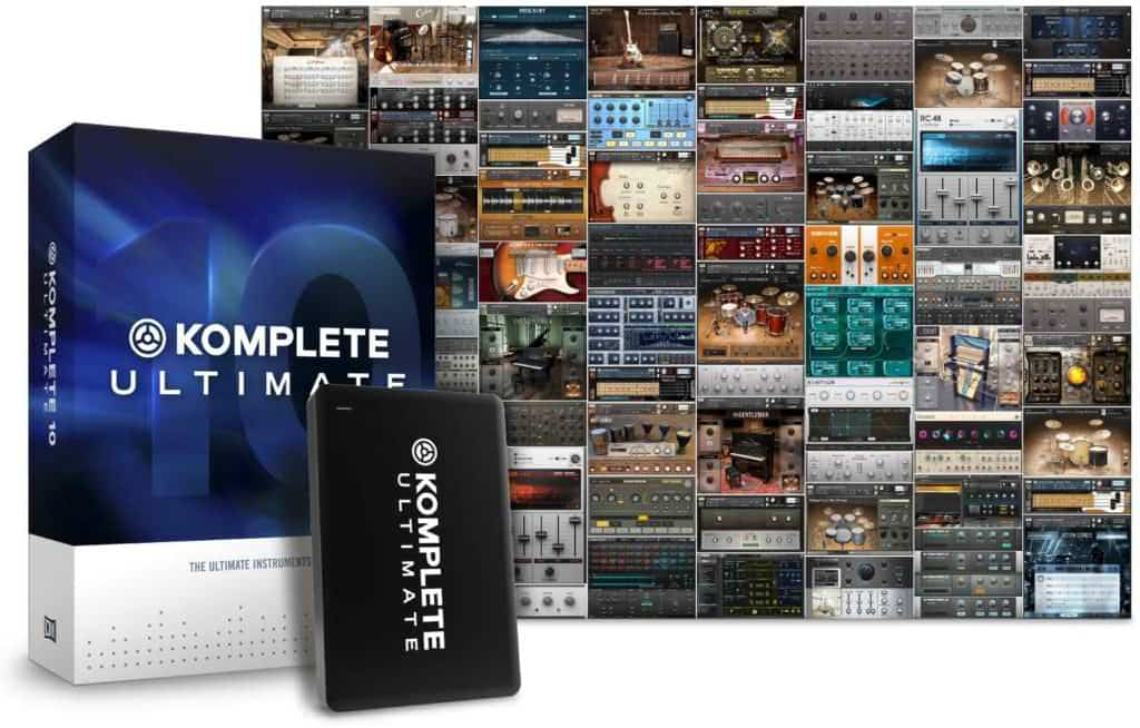 Komplete 10 Ultimate, is something amazing altogether. Go big or go home.